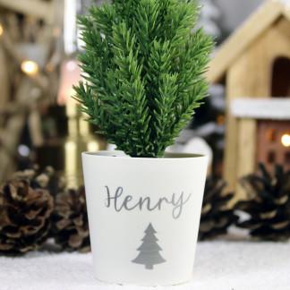 Personalised Mini Christmas Tree