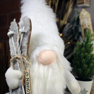 Personalised Gonk - Nordic White